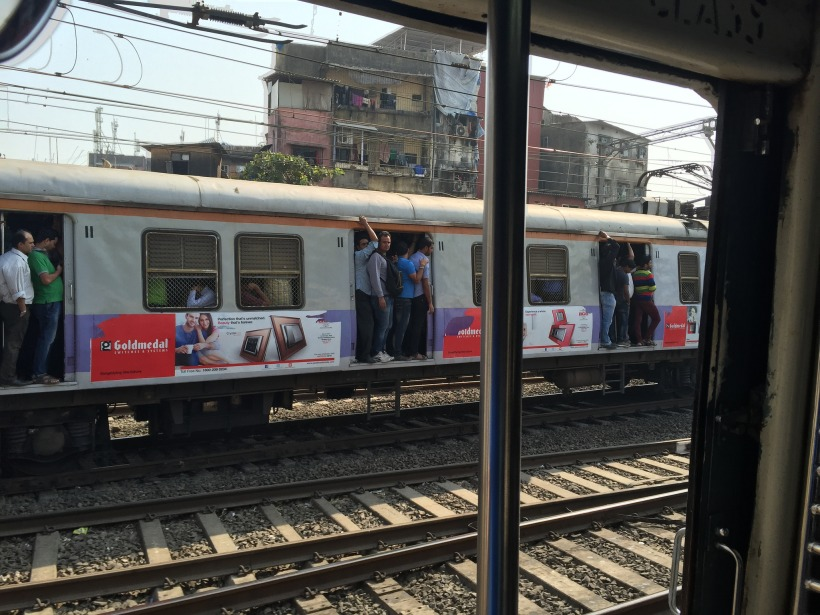 Traveling in India and off the grid...but thankful that projects are still rolling in! (Photo: Personal, Indian Railways in Mumbai).