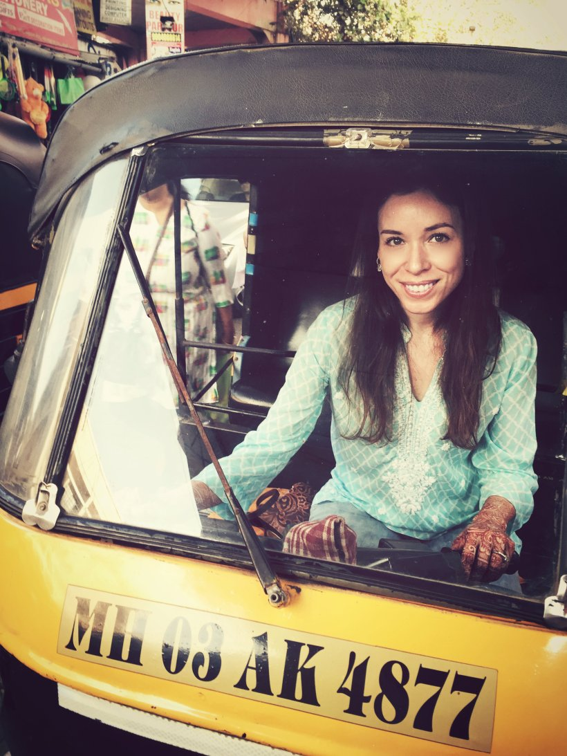 "I tried being a ""rickshaw wallah"" in Mumbai, but it wasn't my calling. (Photo: Personal)."